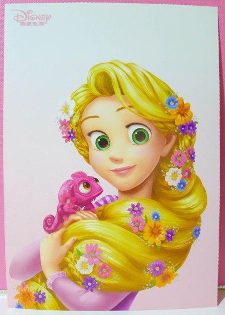 ディズニーファンラプンツェル Disney Postcard Collection
