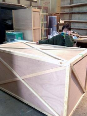 アートフェア2012搬入の準備日_b0052471_2321436.jpg