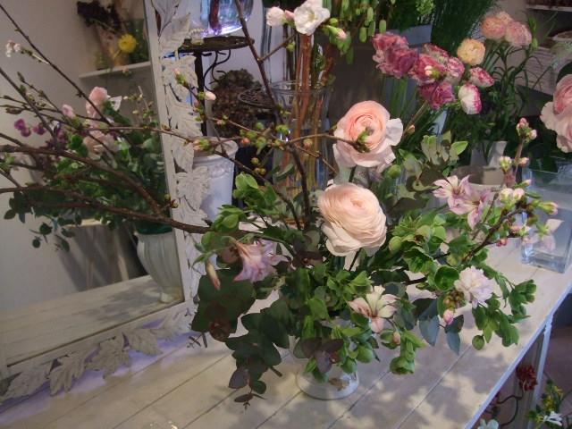 オークリーフ花の教室(松崎さんの作品)_f0049672_16533134.jpg