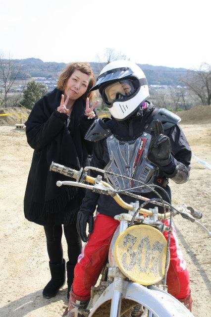 春練習、女子部員_f0200399_22241157.jpg