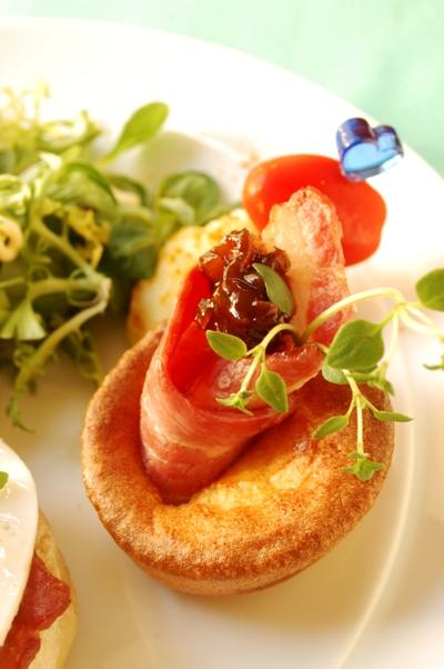 豚ひきとレタスの味噌チーズ焼き_d0104926_5312533.jpg