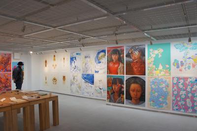 多摩美術大学大学院グラフィックデザイン領域 イラストレーションスタディーズ修了制作展2012開催中です _f0171840_154252.jpg