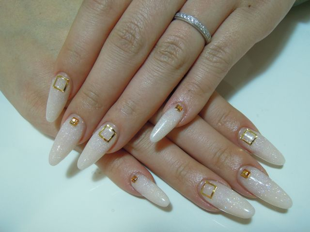 Light Beige Nail_a0239065_19184783.jpg