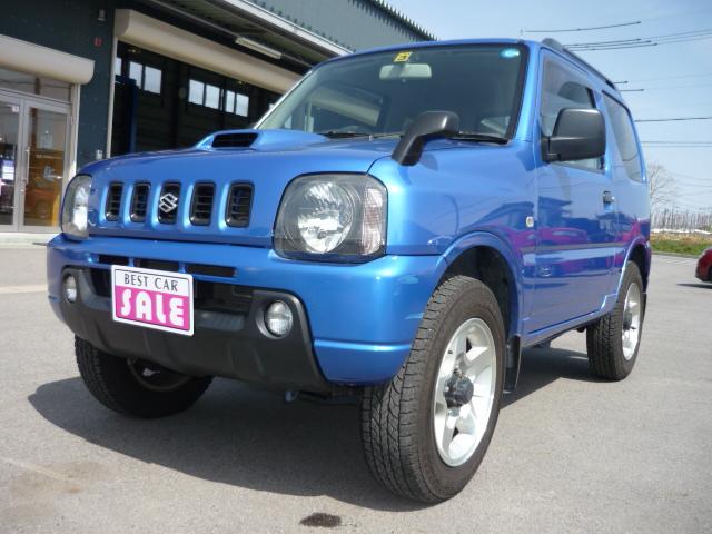 ★おすすめ車★ジムニー XC ターボ 4WD JB23W(*^o^*)v_c0213517_1049057.jpg