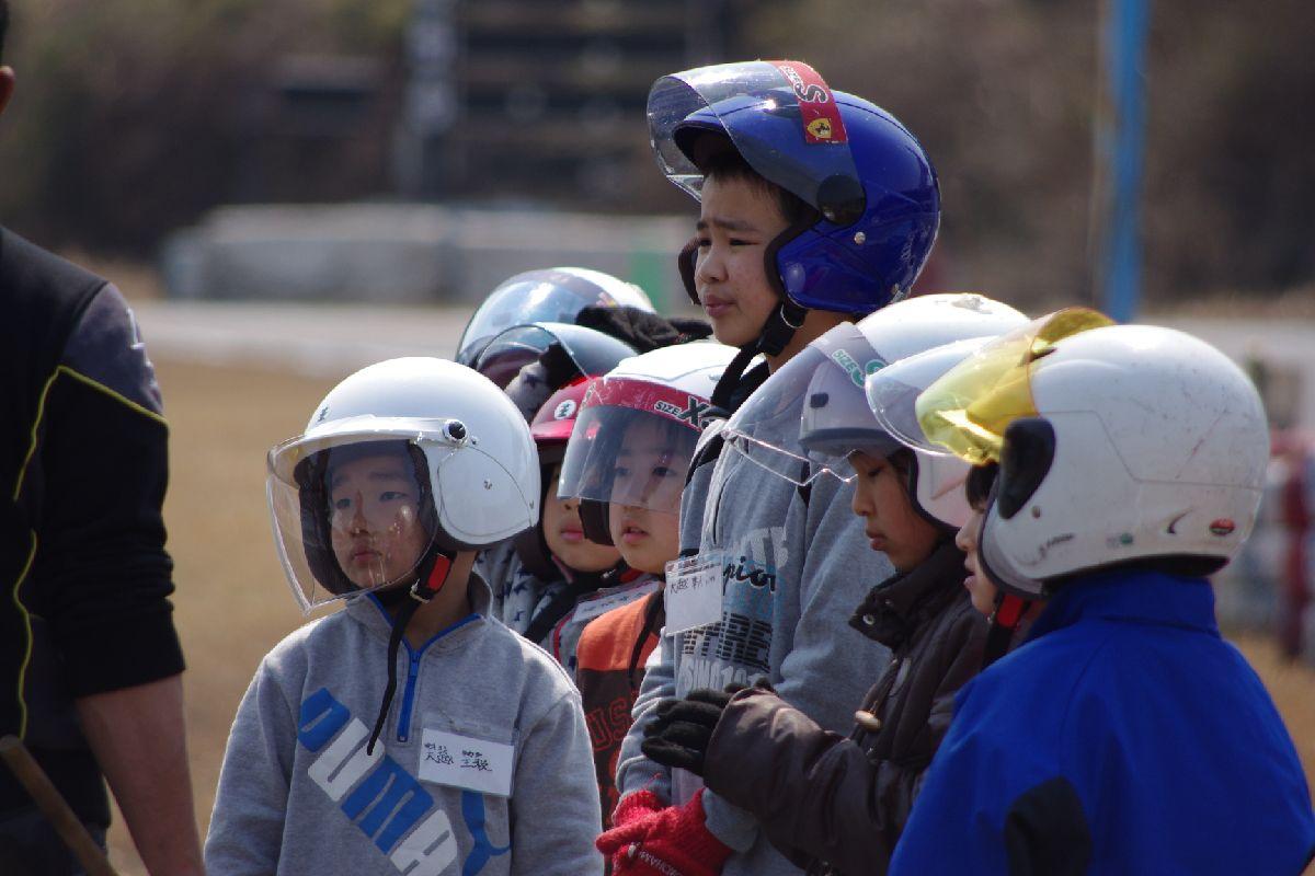 【ジュニア教室】JAFカート体験教室【2012.3.28】_c0224820_15231381.jpg