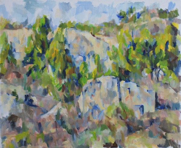 岩と松とキャバンヌ(第三段階)_c0236929_0285655.jpg