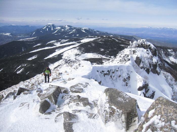 東天狗岳登頂ー_e0155231_1921095.jpg