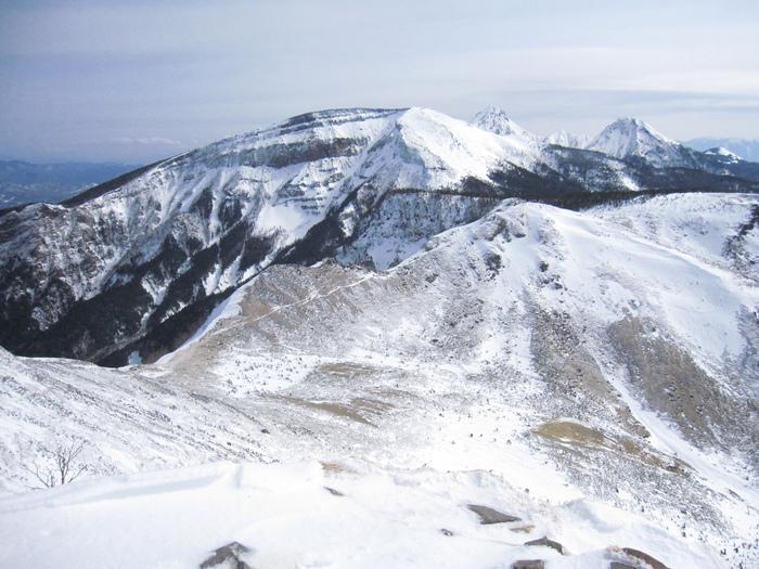 東天狗岳登頂ー_e0155231_19222228.jpg