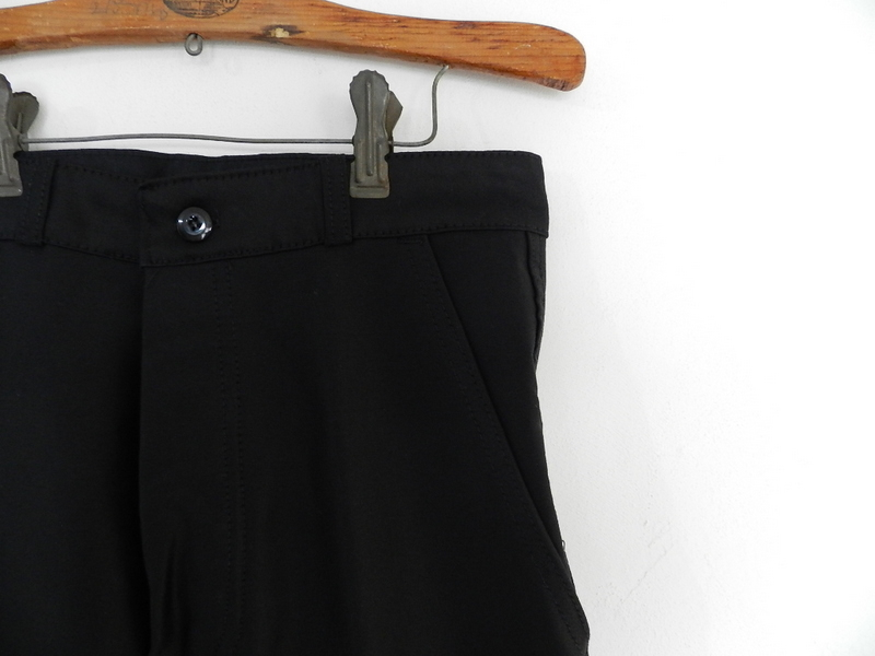 french mole skin pants black squat version 2012 spring_f0226051_1233332.jpg