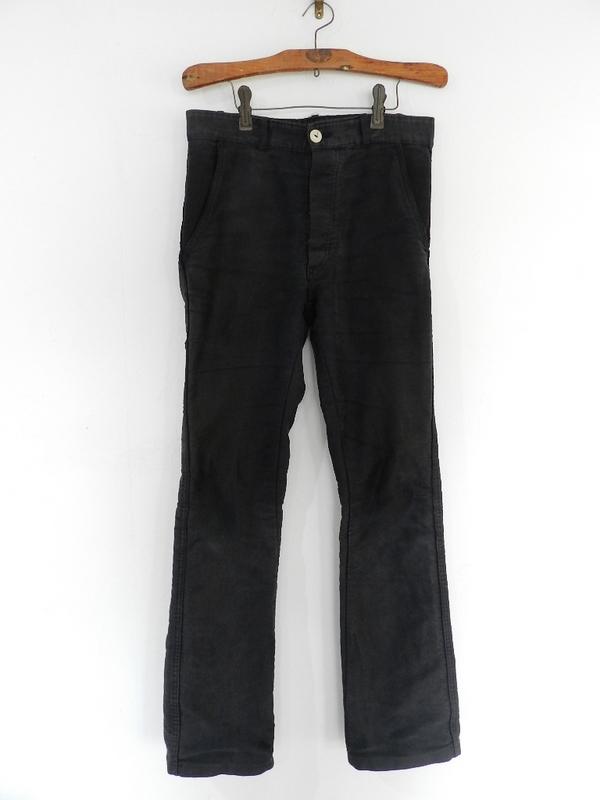 french mole skin pants black squat version 2012 spring_f0226051_1262390.jpg