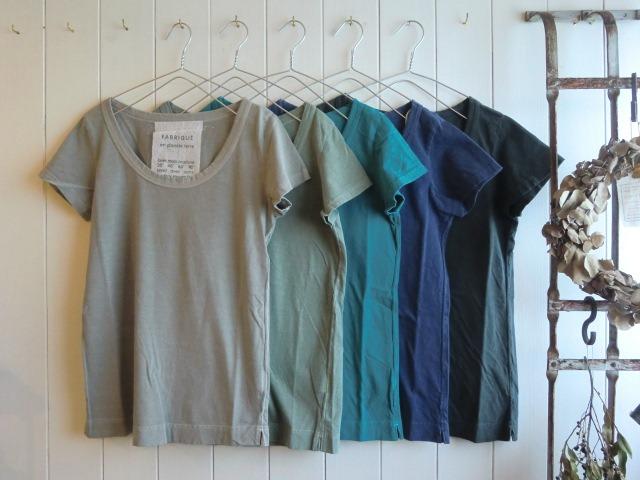 定番Tシャツと・・・また真鍮。笑_a0164280_11521178.jpg