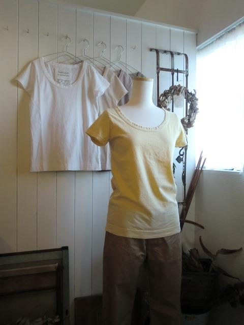 定番Tシャツと・・・また真鍮。笑_a0164280_11521431.jpg