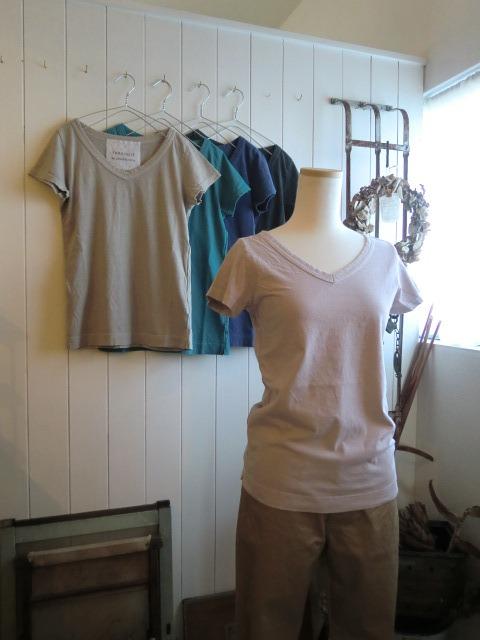 定番Tシャツと・・・また真鍮。笑_a0164280_11521880.jpg