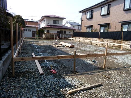 O様邸「南通り築地の家」工事開始しました。_f0150893_19385655.jpg