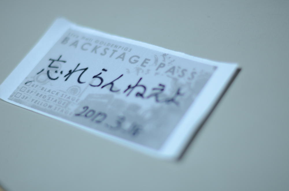 忘れらんねえよツアー2日目(3月18日) 新潟ゴールデンピッグス _f0144394_2391067.jpg