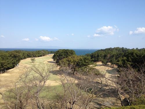 地熱発電 と 大阪ゴルフクラブ 淡輪コース_a0194908_1281975.jpg