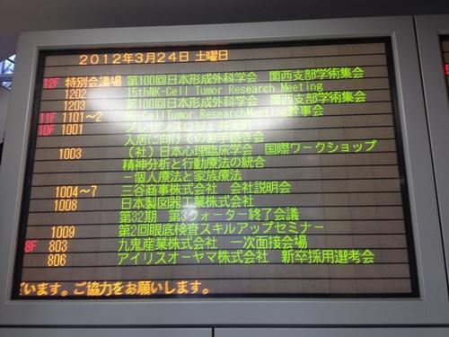 第100回形成外科学会関西地方会 と 草間弥生_a0194908_193915.jpg