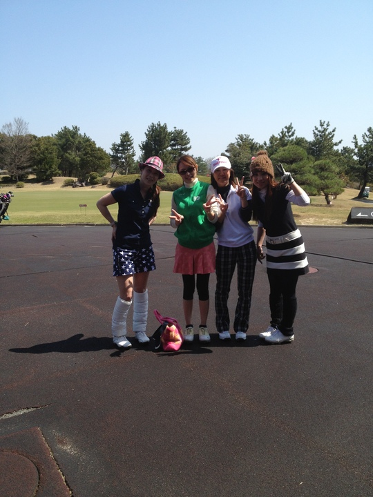 ゴルフに行ったよ~♪_f0085810_1645845.jpg
