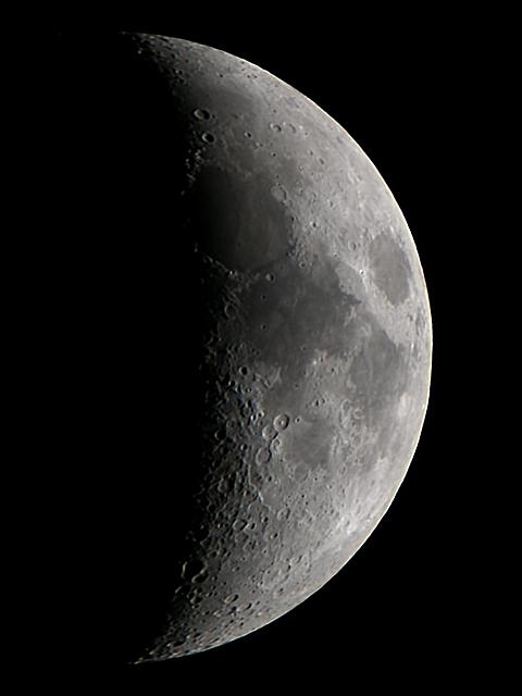 2012年3月29日の月(月齢6.8)_e0089232_205583.jpg