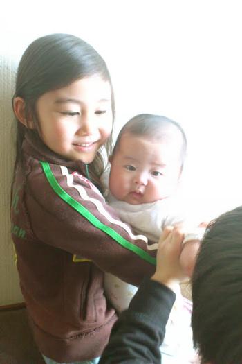赤ちゃんを見てきた( ゚∀゚)_f0149855_10194690.jpg