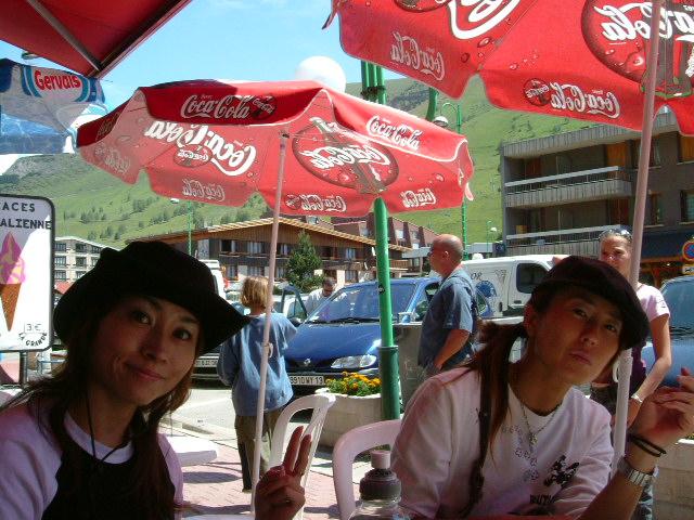 思い出 ② フランスのスキー場_c0151965_2304049.jpg