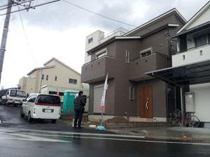 ハピネス新石切 外構工事_e0251265_1992775.jpg