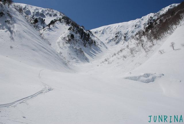 「Junrinaにおまかせ」ツアーは平標山の裏面でした。_d0110562_5275261.jpg