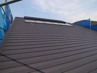 屋根 ガルバリウム鋼板葺き_f0059988_164293.jpg