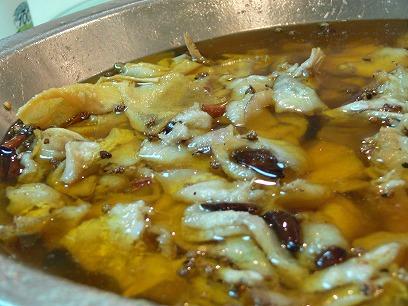 中国出張2010年11月(III)-第二日目-北京の人気の辛い辛い水煮魚_c0153302_22385142.jpg