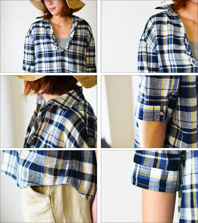 kelen [ケレン] DENIM CHECK [LKL11HBL3A] LADY\'S _f0051306_1534665.jpg