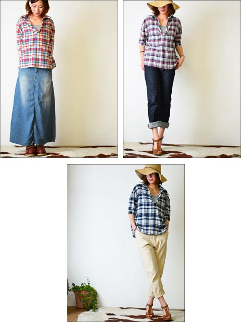 kelen [ケレン] DENIM CHECK [LKL11HBL3A] LADY\'S _f0051306_153473.jpg