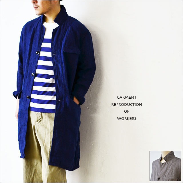 GARMENT REPRODUCTION OF WORKERS [ガーメント リプロダクション オブ ワーカーズ] ENGINEER COAT _f0051306_16233145.jpg