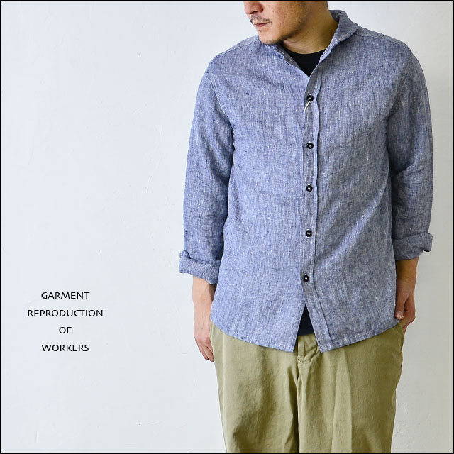 GARMENT REPRODUCTION OF WORKERS [ガーメント リプロダクション オブ ワーカーズ] Franch naval shirts _f0051306_1625277.jpg