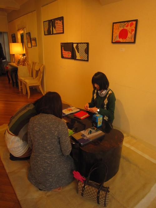 マリコとパンダの二人展 3月30日_c0103137_754795.jpg