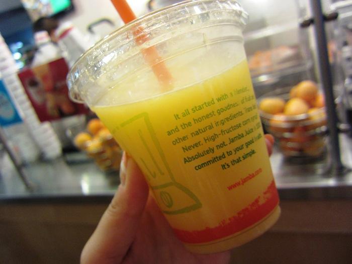 2011冬旅☆ハワイ ~4日目 Jamba Juice~_e0232054_14125419.jpg