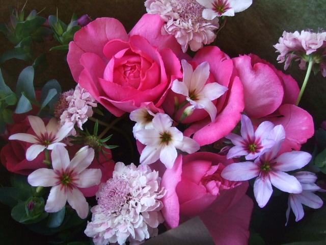 オークリーフ(バラ・イブピアッチェの花束)_f0049672_164147.jpg
