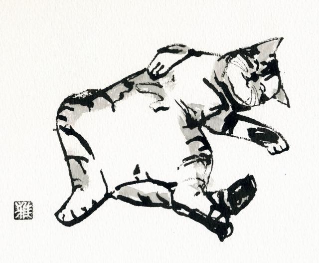 2012/4/18-23 「愛しきもの」 [鈴木雅道 (すずき がどう)] 【絵画】_e0091712_21581371.jpg