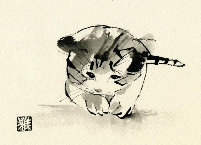 2012/4/18-23 「愛しきもの」 [鈴木雅道 (すずき がどう)] 【絵画】_e0091712_2159331.jpg