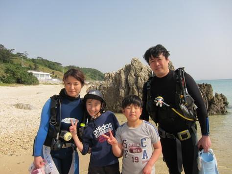 4月1日家族で海遊び♪_c0070933_20204219.jpg
