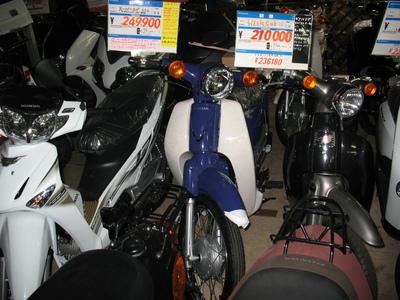 2011スーパーカブ110在庫あります_e0114857_22253330.jpg