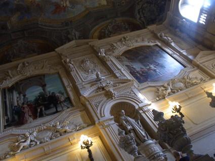 キノコのサラダ ☆ パラッツォ レアーレ Palazzo Reale_b0246303_3503136.jpg