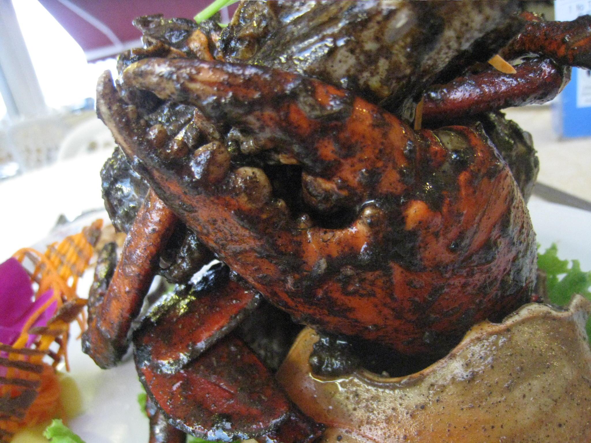 お独りさま black pepper crab@Long Beach_c0212604_20253924.jpg