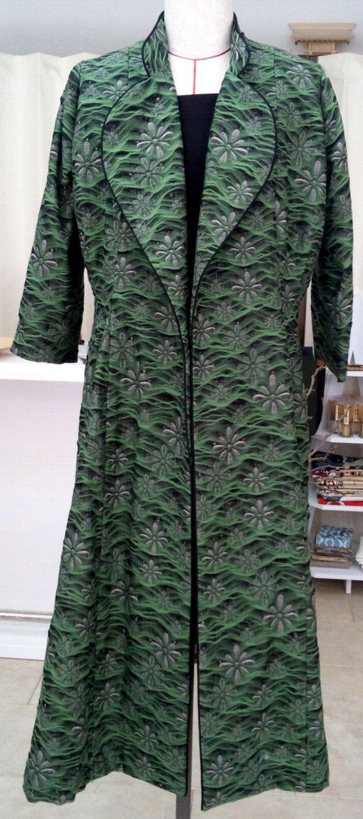 2通りの着方ができる播州織のコートドレス_c0247853_925622.jpg