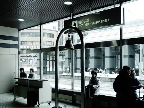 札幌駅探訪Vol.012「鐘の広場」 : 札幌日和下駄