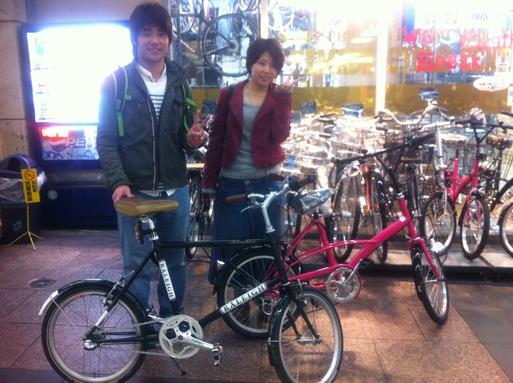 自転車屋 神戸 中央区 自転車屋 : 左のミドリの方はミニベロのRSS ...