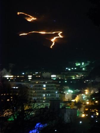 扇山の火まつり。_e0251278_2295068.jpg