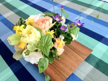 2012年4月 料理教室 新玉ねぎのブランマンジェ 翡翠ソース_e0134337_12384163.jpg