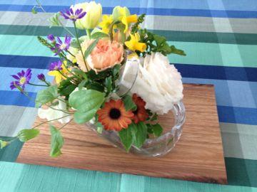 2012年4月 料理教室 新玉ねぎのブランマンジェ 翡翠ソース_e0134337_1239389.jpg
