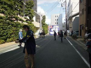 浜松まつり、初凧の糸目付け_e0030586_22445561.jpg