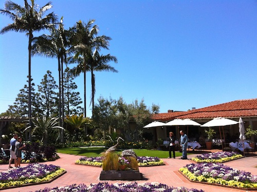 L a diary for Cafe jardin corona del mar